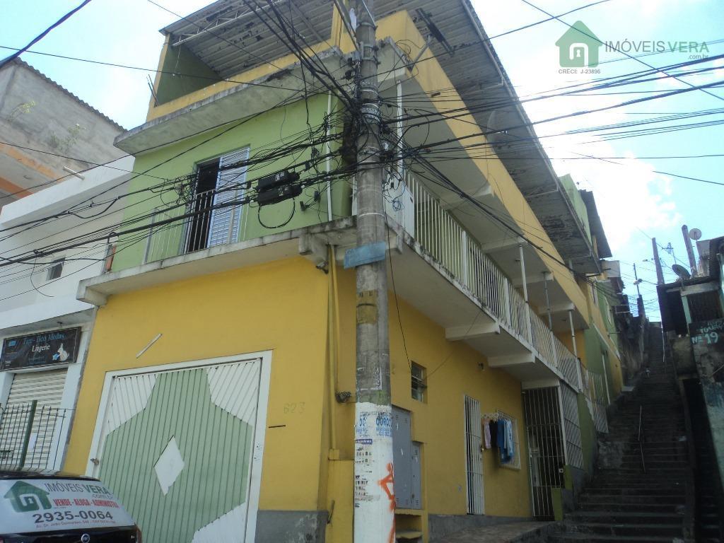 Casa residencial para locação, Jardim Novo Campo Limpo, Embu das Artes.