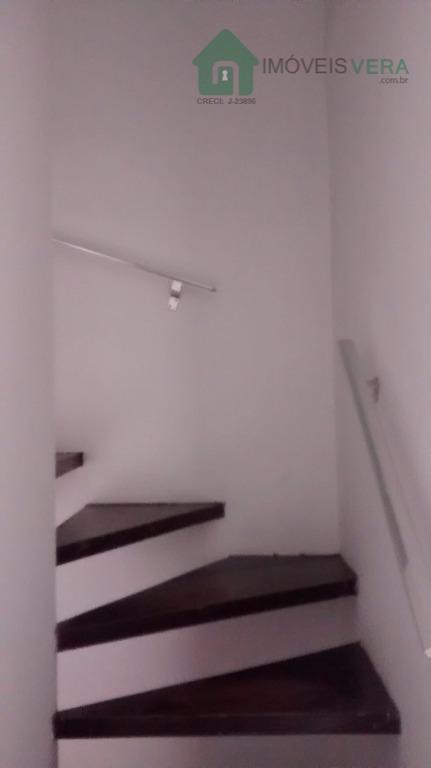 Sobrado residencial para locação, Jardim Henriqueta, Taboão da Serra.