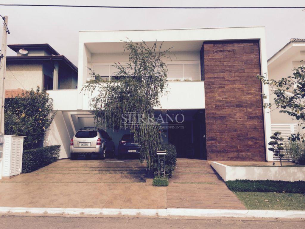 Linda Casa com estilo moderno, no Condomínio Villaggio Capriccio, em Louveira/SP