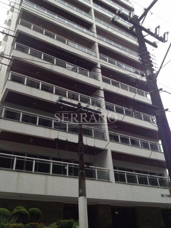Apartamento  residencial à venda, Barra Funda, Guarujá.