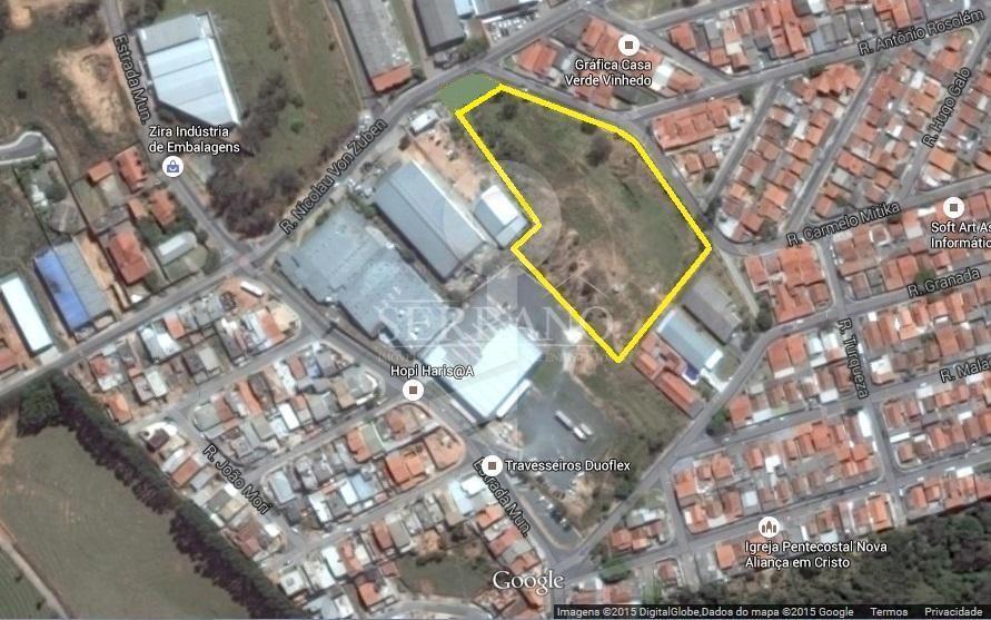 Terreno comercial à venda, Capela, Vinhedo.