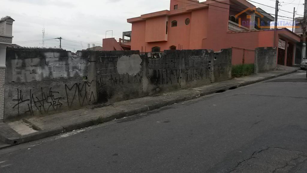 Terreno residencial à venda, Vila Mazzei, Santo André - TE00