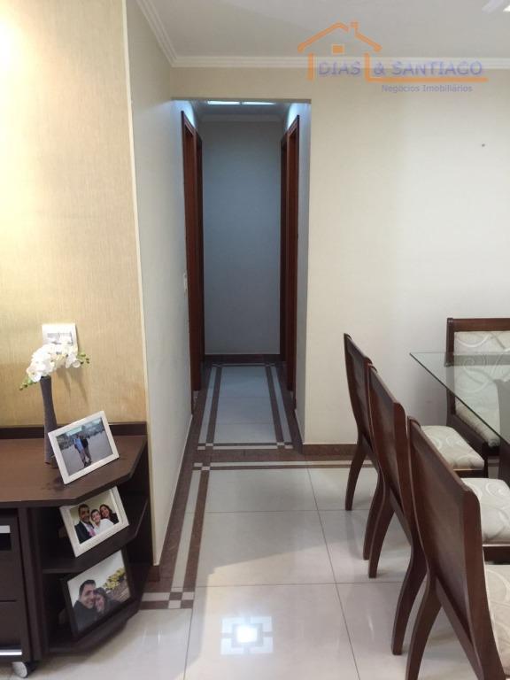 Apartamento residencial à venda, Utinga, Santo André - AP097