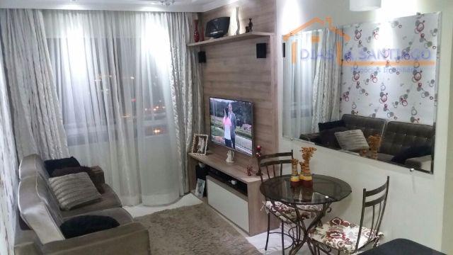 Apartamento residencial à venda, Canhema, Diadema - AP0978.