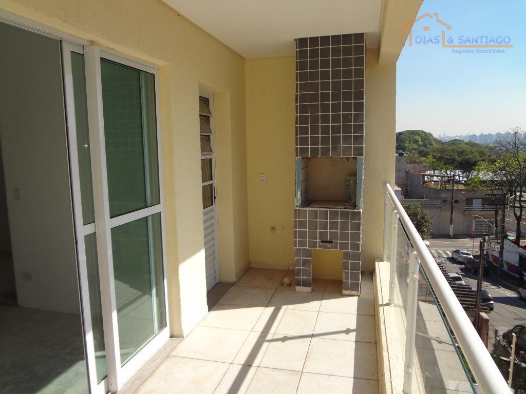 Apartamento residencial à venda, Utinga, Santo André - AP098
