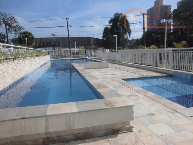 Apartamento residencial para locação, Taboão, Diadema - AP09