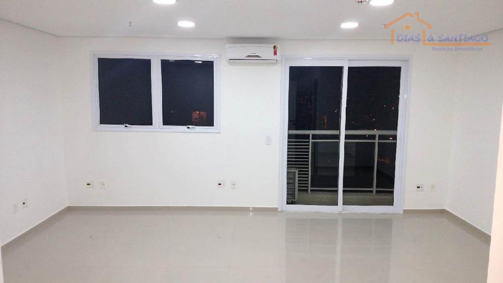 Sala comercial para locação, Centro, Diadema - SA0029.