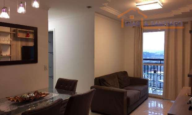 Apartamento residencial à venda, Vila Metalúrgica, Santo And