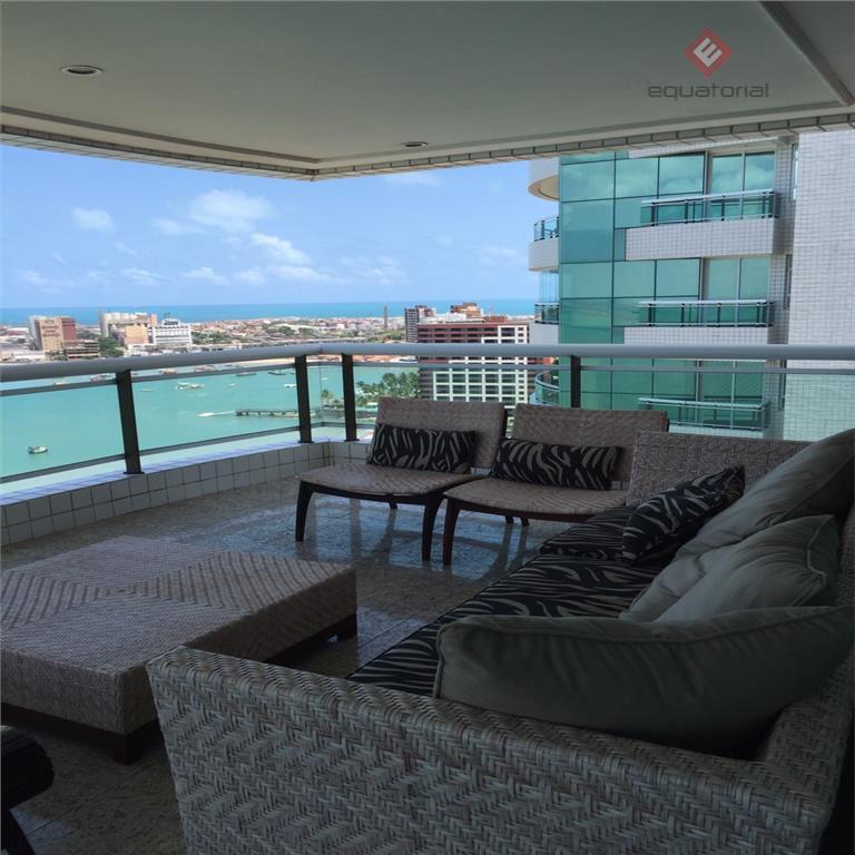 Apartamento com 326 m² , Edifício Mucuripe Plaza, Beira Mar – AP8599