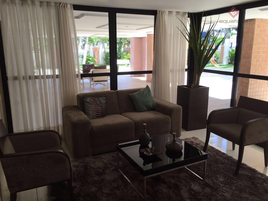 AP9381 Apartamento com 124m², 03 suítes  02 vagas , Cocó Fortaleza
