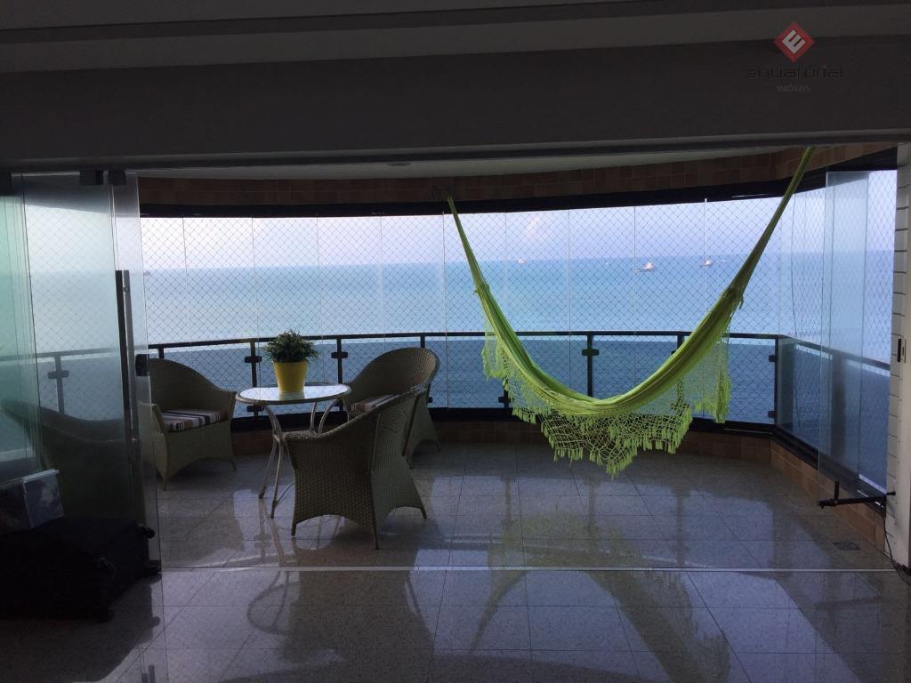 Apartamento residencial à venda, Meireles, Fortaleza - AP1563.