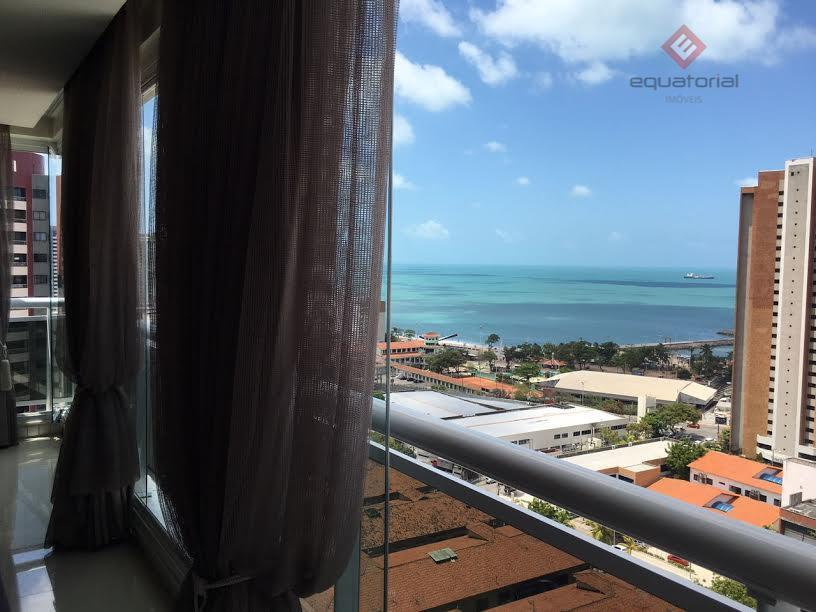 excelente apartamento no meireles, todo projetado, à uma quadra da beira-mar, com vista parcial do mar,...