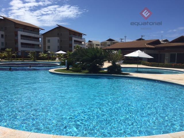 Vendemos Apartamento Vila do  Porto c/110m² ,03 quartos,02 vagas , Porto das Dunas, Aceito Proposta