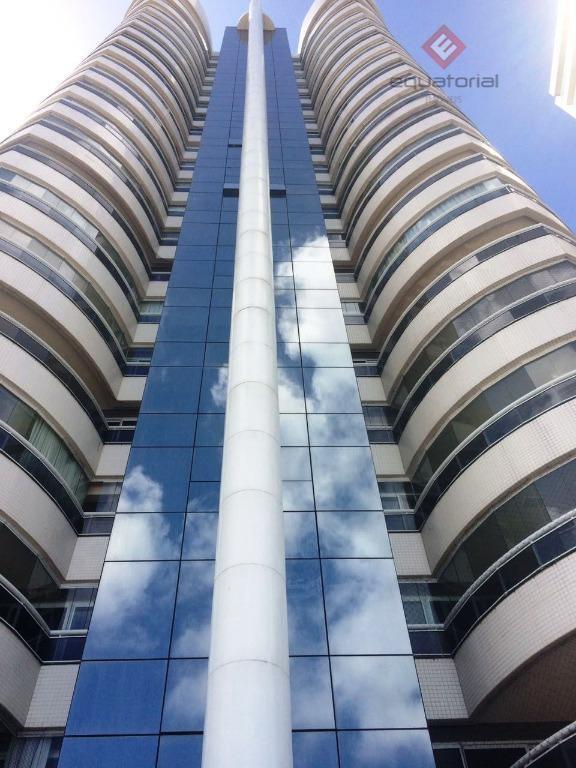 Apartamento residencial para locação, Meireles, Fortaleza.