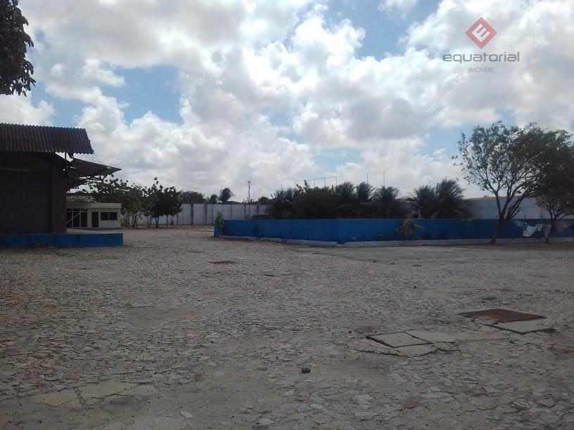 Aluguel de Terreno e Galpão com Refeitório, Barra do Ceará, Fortaleza.