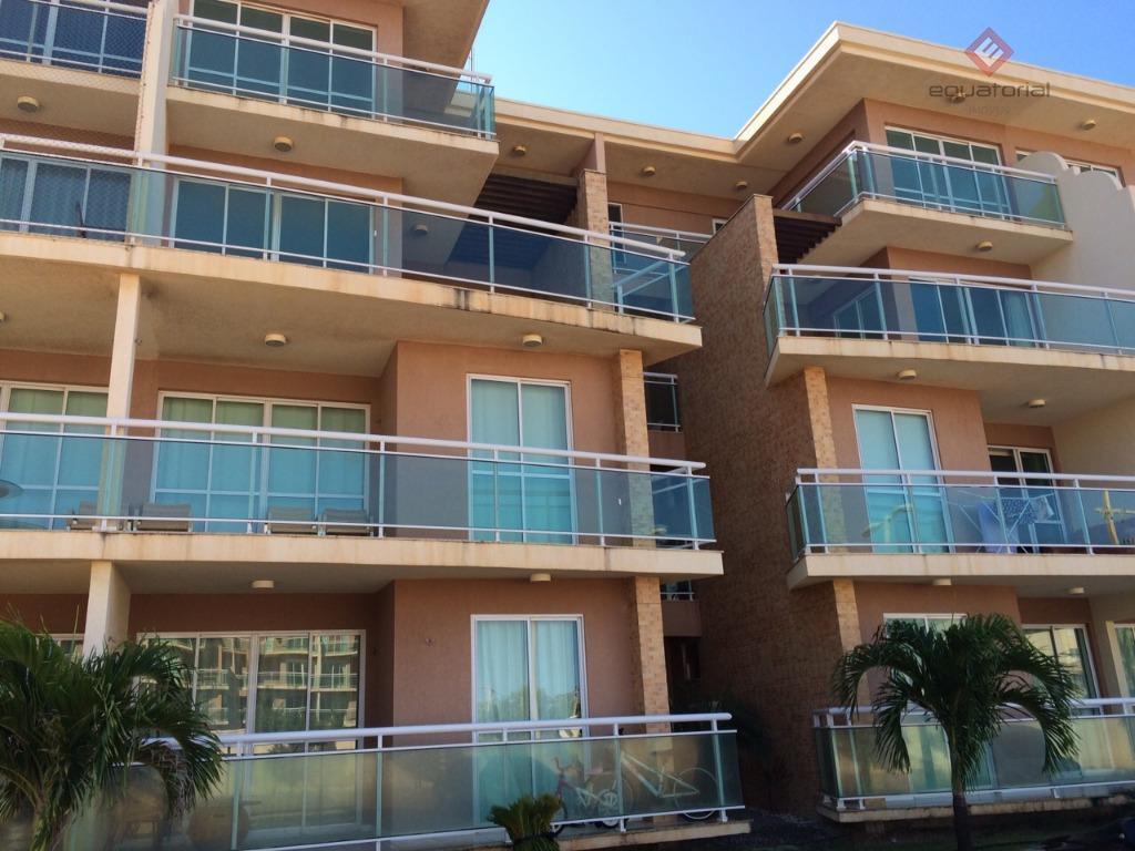Apartamento residencial à venda, Graiá, Aquiraz.