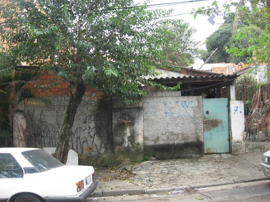 Terreno residencial à venda, Vila Campanela, São Paulo.