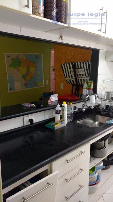 apartamento com 3 dormitórios, sala, cozinha, banheiro, 1 vaga de garagem, móveis planejados na cozinha e...