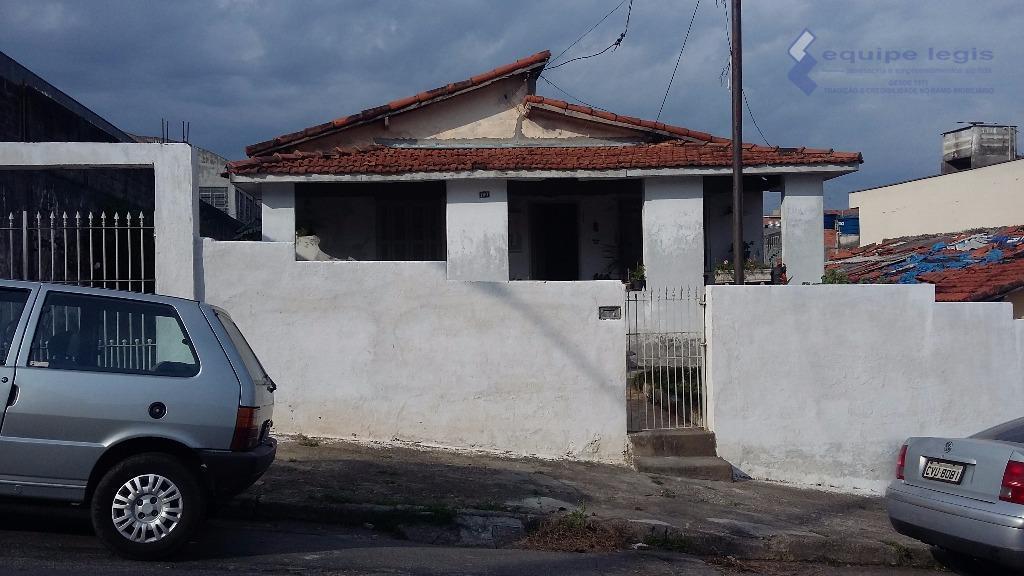terreno com casa antigametragem 13,00m de frente por 23,00m da frente aos fundostotal de 299,00m²doc. okpode...