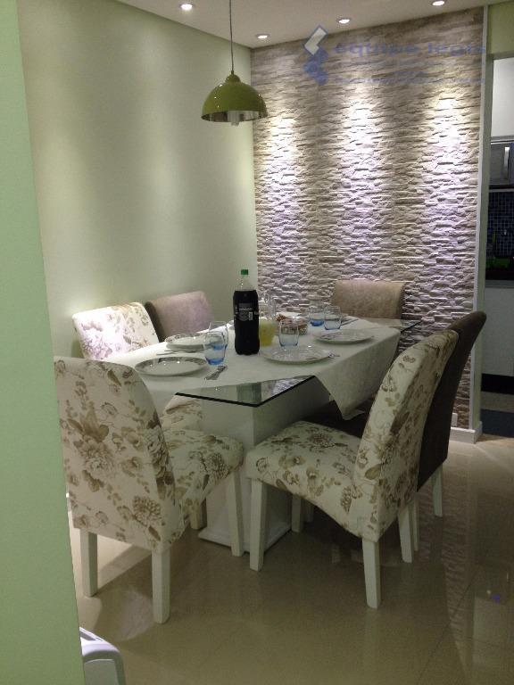 apartamento com 2 dormitórios, sala, cozinha, banheiro, área de serviço, 1 vaga de garagem, móveis planejados:...