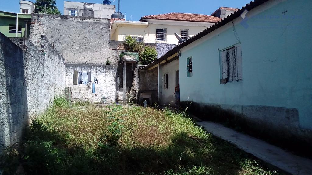 terreno com duas casas antigas medindo de frente 5x25 e nos fundos 10x25, totalizando 375 mts....