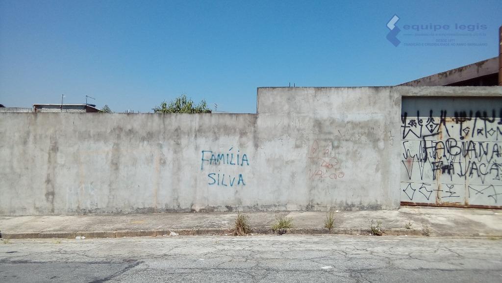 Terreno residencial à venda, Vila Santana, São Paulo.