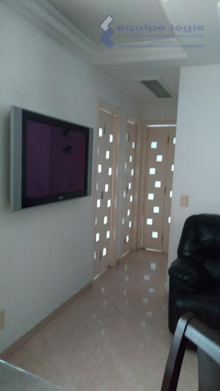 apartamento 3 dormitórios, sala de star com sanca, cozinha, wc, área de serviço, garagem coberta, móveis...