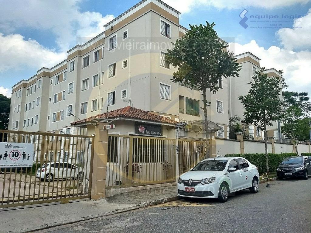 Apartamento residencial à venda, Vila Raquel, São Paulo.