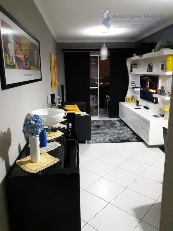 apartamento com 3 dormitórios sendo um suíte,sala,cozinha,banheiro, área de serviço,1 vaga coberta, lazer completo, planejados na...