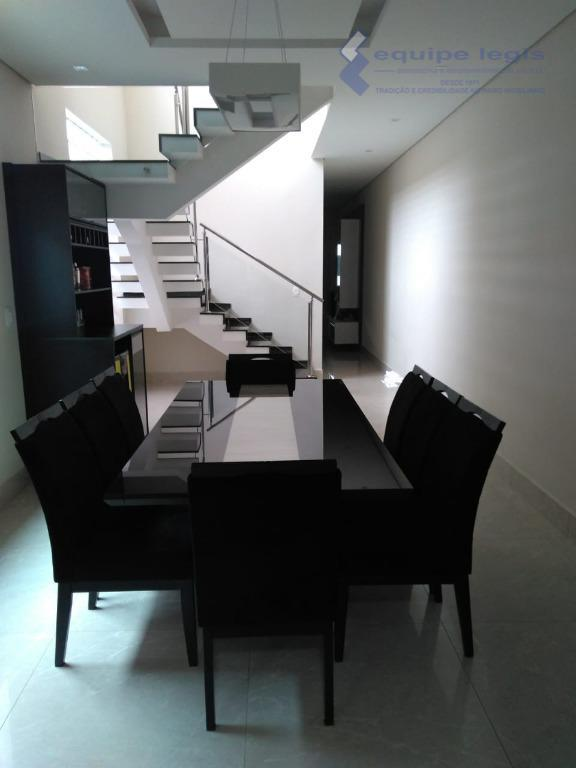 Sobrado com 3 dormitórios à venda, 250 m² por R$ 800.000 - Vila Campanela - São Paulo/SP