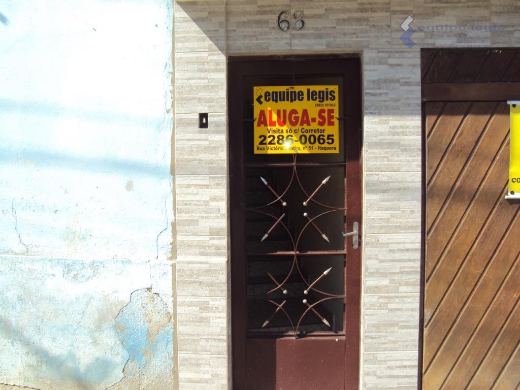 Casa com 1 dormitório para alugar por R$ 600/mês - Jardim Santa Terezinha (Zona Leste) - São Paulo/SP