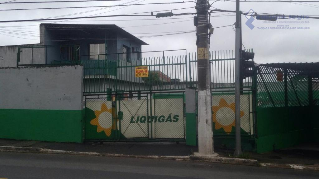 Terreno para alugar, 640 m² por R$ 3.500/mês - Vila Santa Cruz - São Paulo/SP