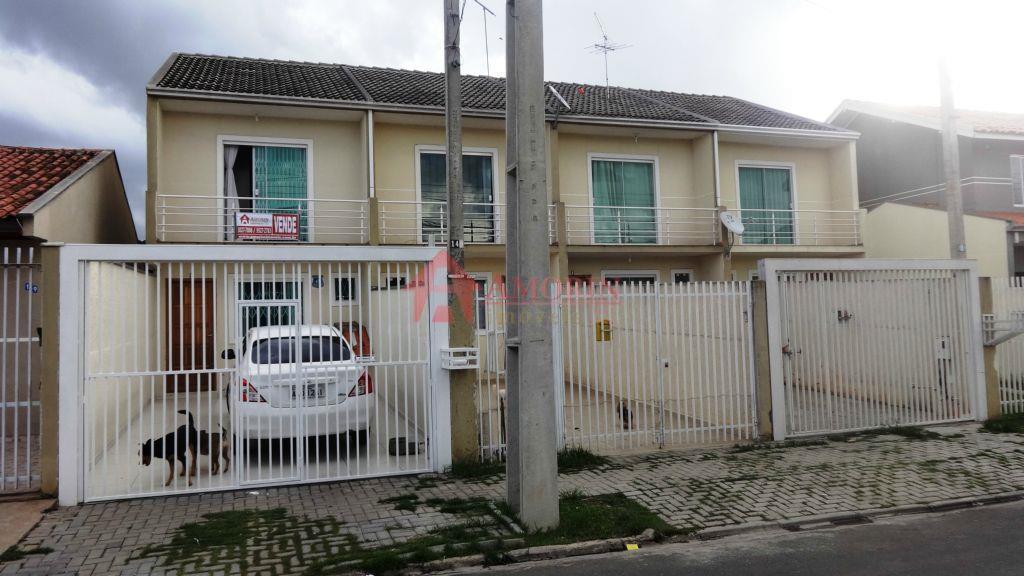 Sobrado residencial à venda, Cidade Industrial, Curitiba.