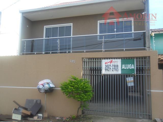 Sobrado residencial para locação, Cidade Industrial, Curitiba.