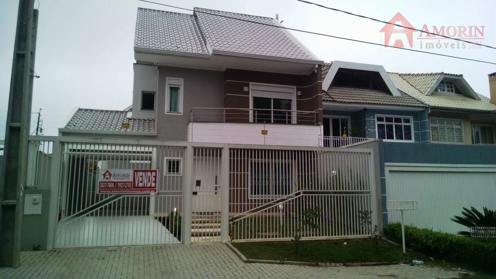 Sobrado residencial à venda, Boa Vista, Curitiba.