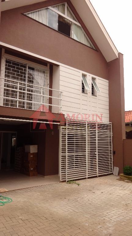 Sobrado residencial para locação, Tingui, Curitiba.