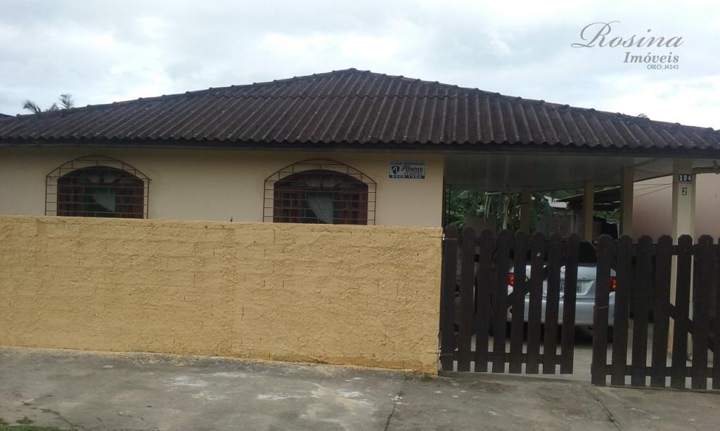 Linda casa medindo 70 m² localizada na VIla das Palmeiras em Morretes/Pr