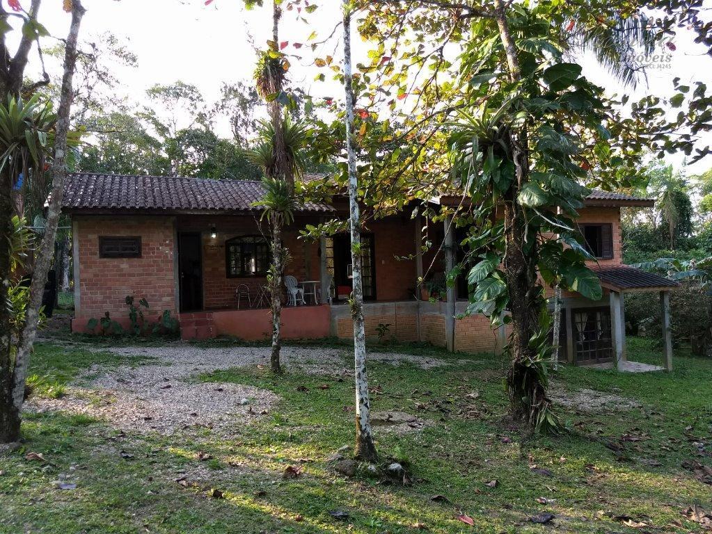 Chácara rural para locação, Rio Sagrado, Morretes.