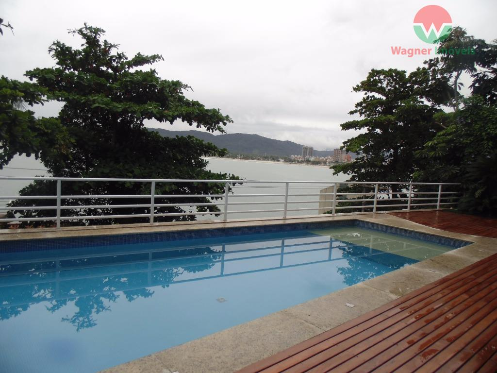 casa vista para o mar na peninsula guaruja