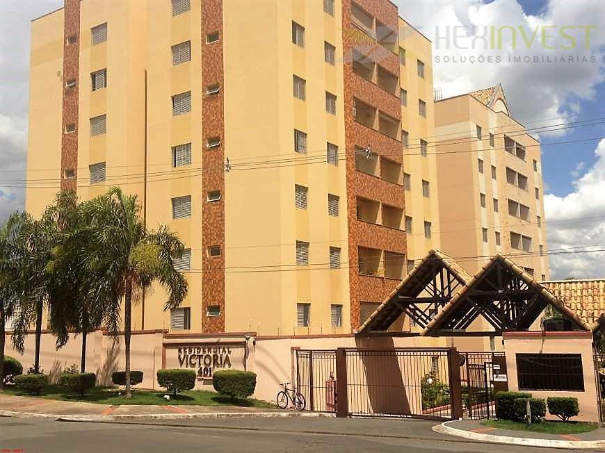 Apartamento residencial à venda, Jardim Pompéia, Indaiatuba.