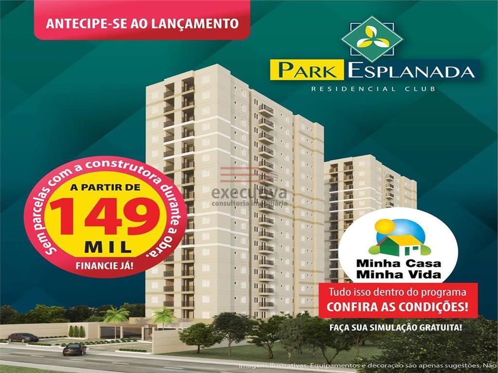 Apartamento residencial à venda, Esplanada Independência, Taubaté.