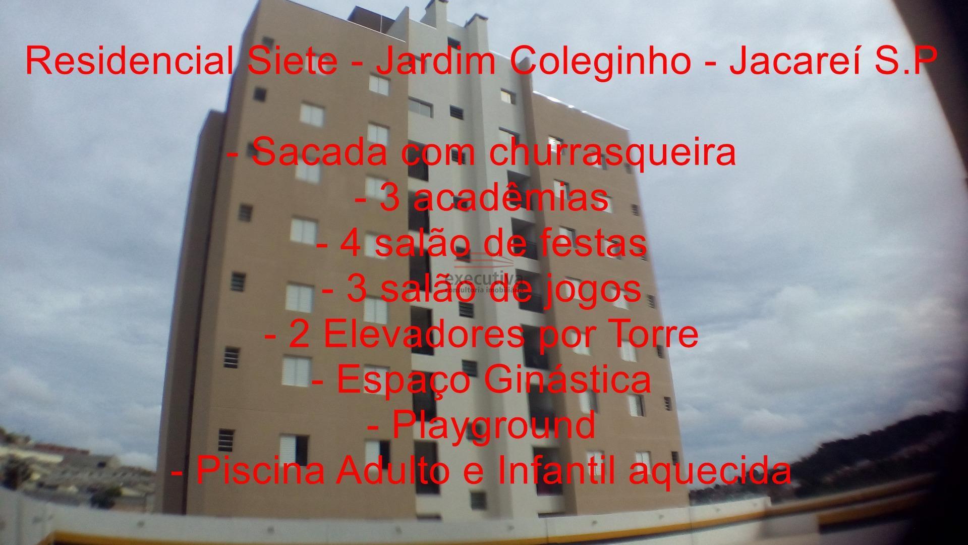 Apartamento residencial 73 para locação, Jardim Coleginho, Jacareí.