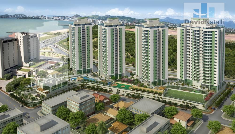 Apartamento 4 quartos com 2 suítes, Jardim Camburi, Vitória.