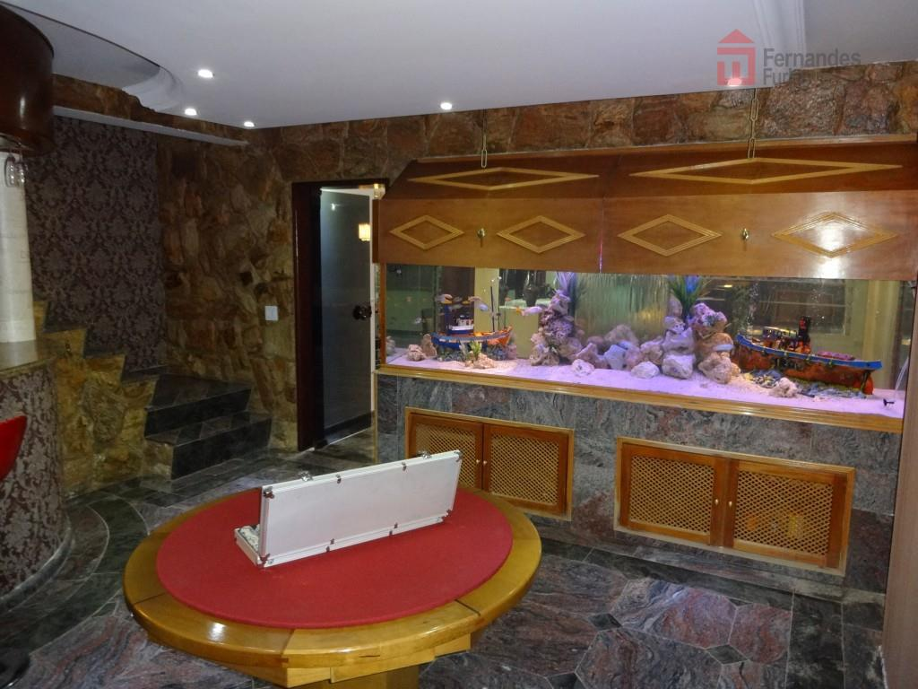 chácara cinematográfica com casa de alto padrão finamente decorada, revestimento em granito, madeira e papel de...