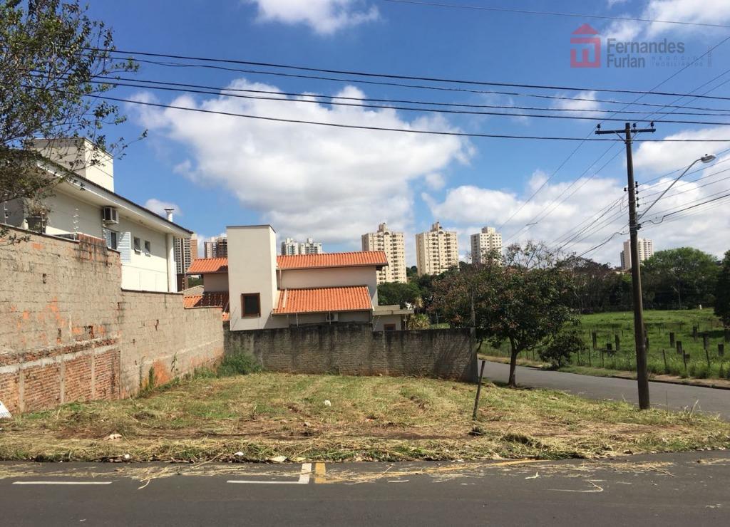 imóvel em piracicaba. terreno em declive, de esquina, em excelente localização no bairro santa cecília com...