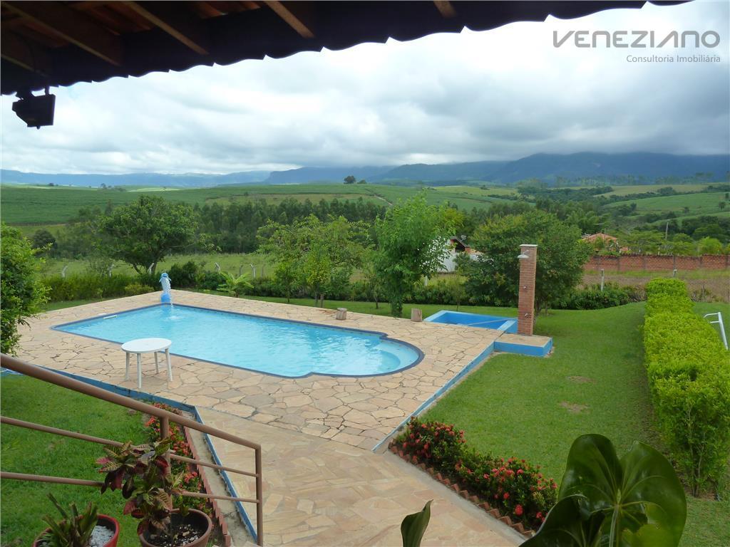 Chácara  residencial à venda, Serra Azul II, Charqueada.