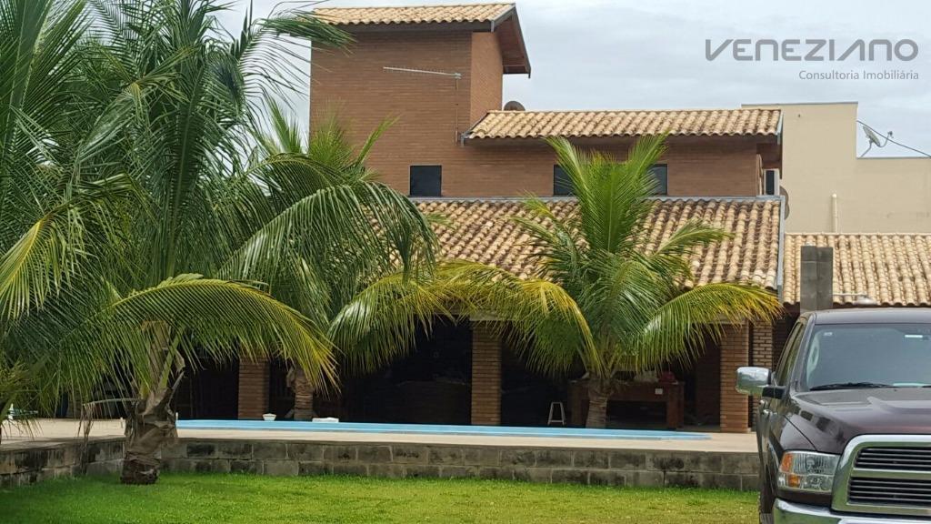 Chácara  residencial à venda, Condomínio Ondas Grandes, Santa Maria da Serra.