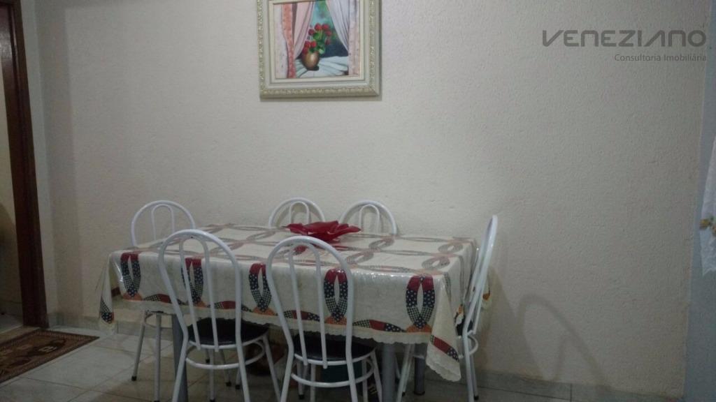 Casa de 3 dormitórios à venda em Conjunto Residencial Mário Dedini, Piracicaba - SP