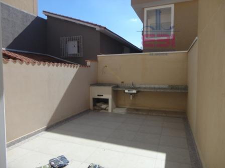 sobrado novo, 3 suítes, sala para 2 ambientes, lavabo,cozinha, área de serviço, quintal com churrasqueira e...