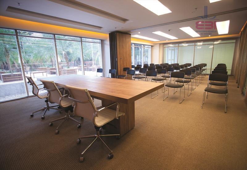 excelente oportunidade, sala comercial nova, no contra piso, com 47m², 1 lavabo, pré instalação para copa...